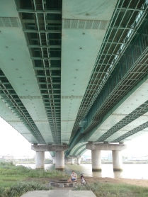 Motorway overpass