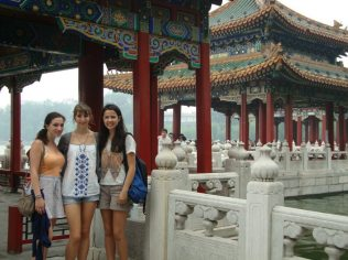 Pagodas by the Lake