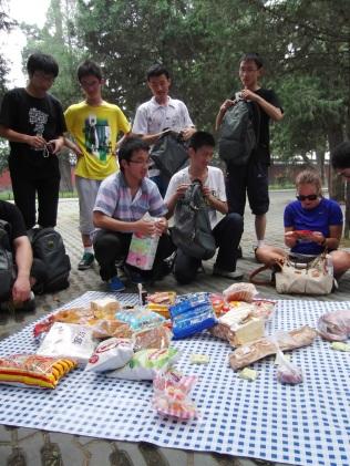 Jennifer and the picnic