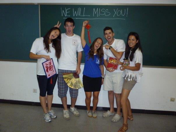We will miss you!