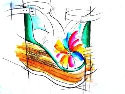 Razz Shoe 3 - Great Wall paint edit