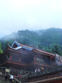 Gondola on Mt. Emei