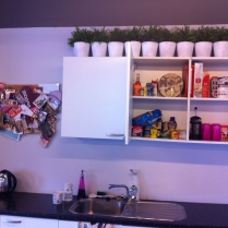 Suzie's beautifully clean cupboards!
