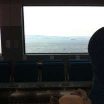 Belfast Lough on my homebound Commute