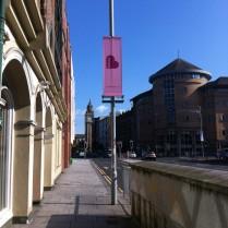 The leaning Albert Clock on my morning walk