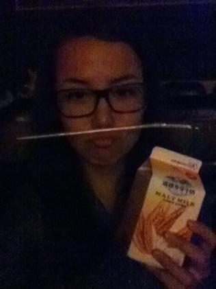 Glasses on, Malt Milk at the ready!