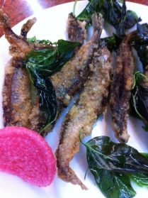 Deep fried lady fish