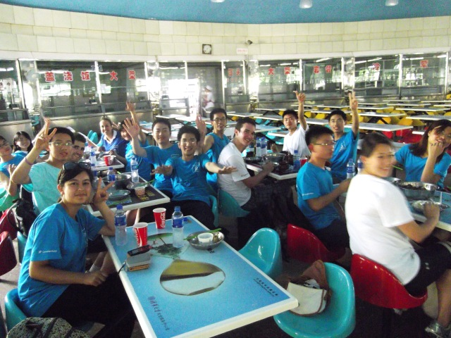 Class Lunch with Blue G