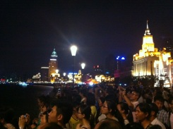 Tourist Hoards at The Bund