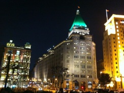 Peace Hotel at Night