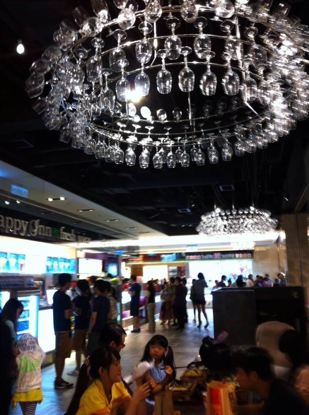 Taipei 101 Chandelier Food Court