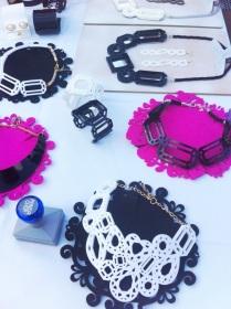 DAFF Shanghai 2013: FAB Acrylic Jewellery