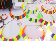 DAFF Shanghai 2013: Neon Thread Necklaces