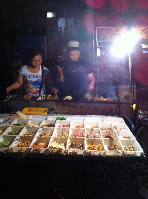Fudan University Street Food: 夫妻店 Shanghai China