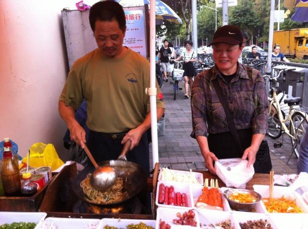 Fudan University Street Food: 夫妻店