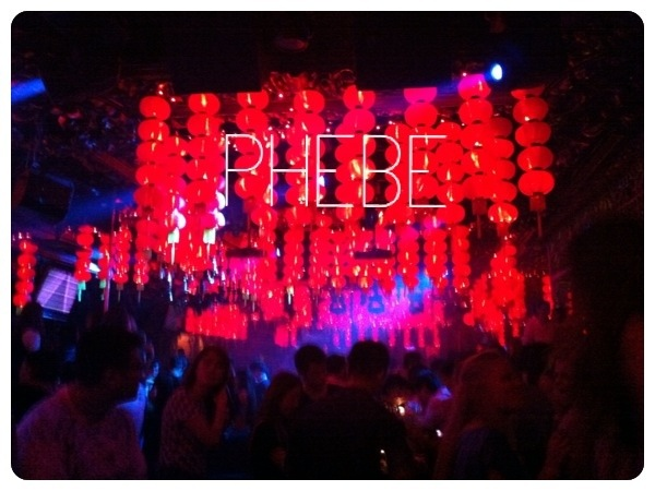 PHEBE Club Shanghai Nightlife