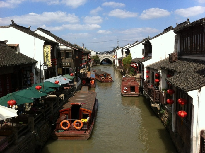 Suzhou Canal Boats, China