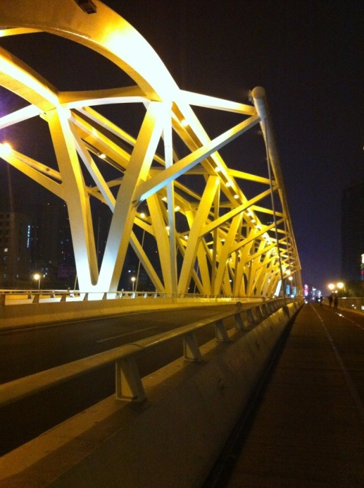 Over the Bridge, Tianjin