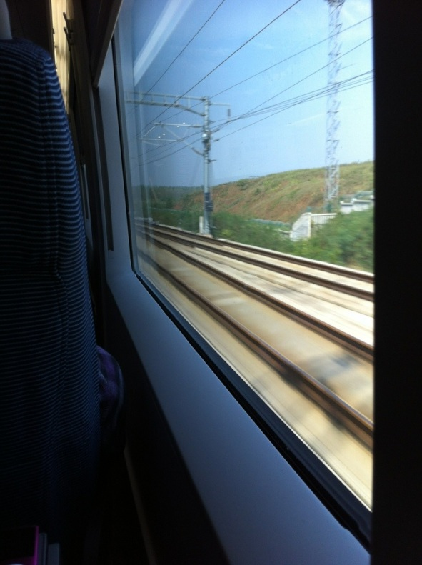 View from the Window, China High Speed Train