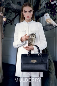 Cara Delevigne Mulberry Tim Walker AW 2013