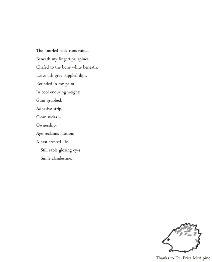 hedgehog poem