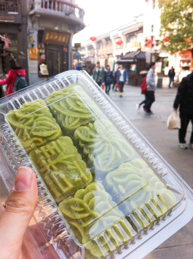Red Bean Tea Cakes in Hangzhou