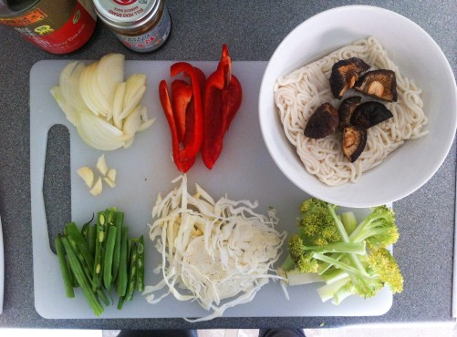noodles ingredients